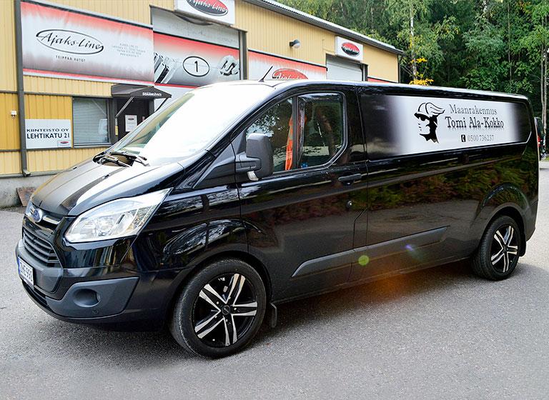 Ajaks-line-alakokko-pakettiauto