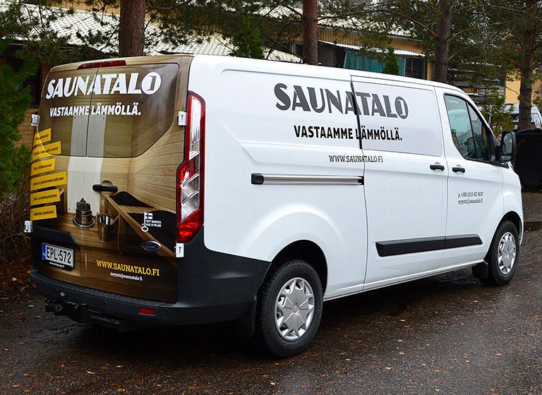 Ajaks-line-saunatalo-pakettiauto